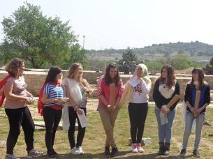 field teaching in ancient theatre of demetrias 1